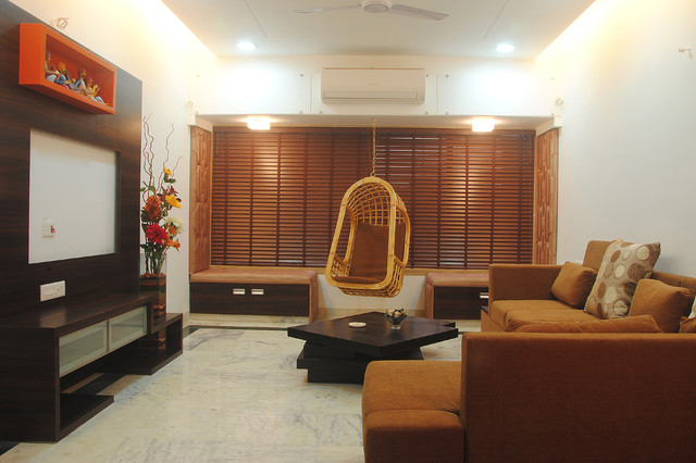 Indian houses interior designers india contemporary for Simple living room designs in india