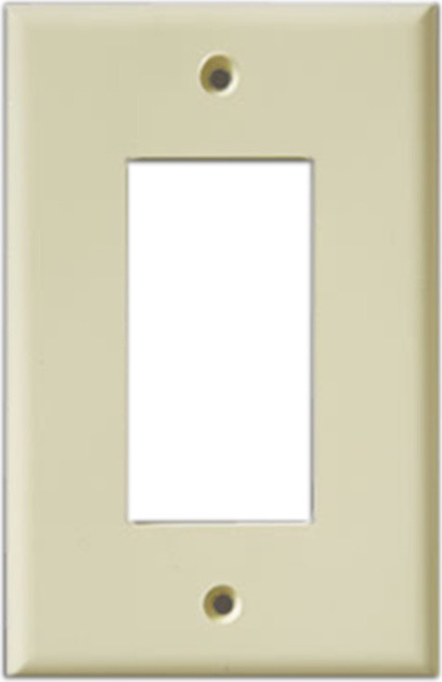 Exceptionnel InvisiPlate Single Rocker Paintable Plate Cover, Smooth