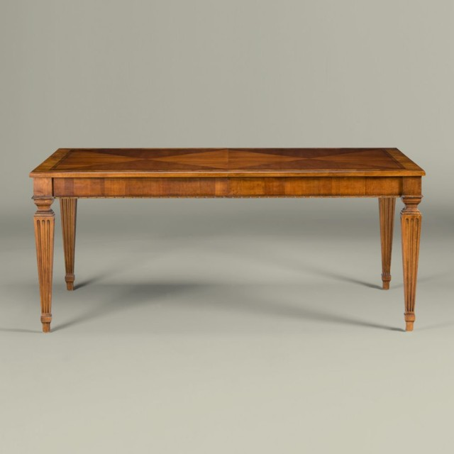 Ethan Allen Rectangular Coffee Tables: Townhouse Rectangular Dining Table