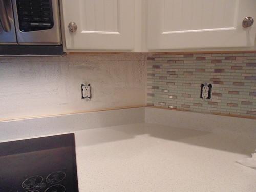 Install mosaic tiles on interior at 22.5 degrees interior wall.