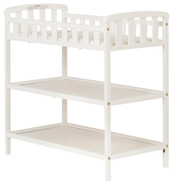 Dream On Me, Emily Changing Table, White