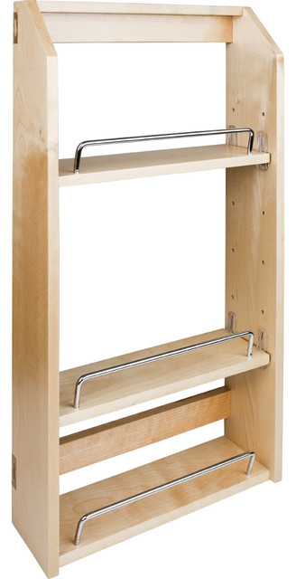 "Adjustable Spice Rack for 21"" Wall Cabinet. - Contemporary - Spice Jars And Spice Racks - by ..."