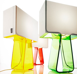 Tube Top Color Lamp modern table lamps