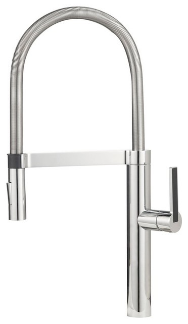 Blanco Culina Semi Pro Chrome Contemporary Kitchen Faucets By The Distribution Point