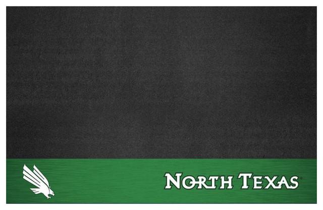 North Texas Mean Green Bbq Grill Mat.