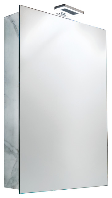 Isa Bagno Dinho Mirrored Cabinet With Led Lighting.