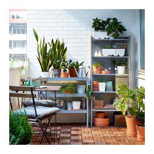 IKEA Shelf Unit/mini Greenhouse Combo