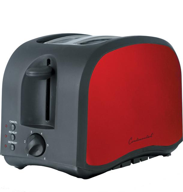 2-Slice Toaster, Metallic Red