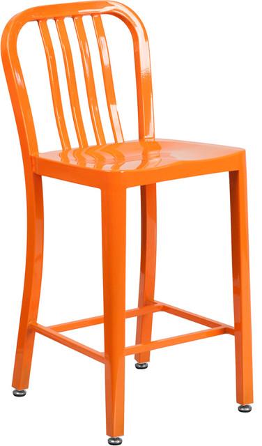 Flash Furniture Flash Furniture Ch 61200 24 Wh Gg 24 Inch