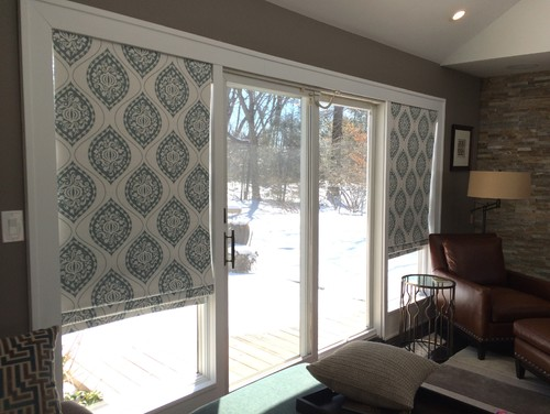 Sliding Door Coverings : Window covering for sliding doors