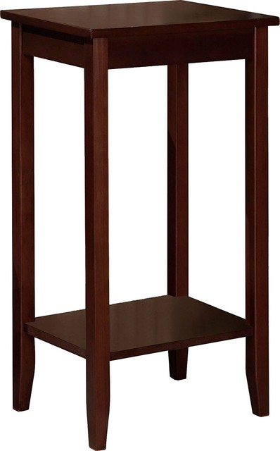 Unique Design Tall End Table.