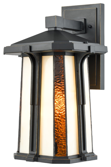 Fleetwood Outdoor Tiffany Wall Sconce Craftsman Lights And Sconces By Dale