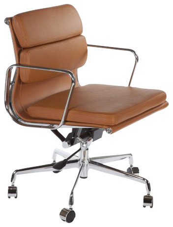Catania Office Chair, Brown.