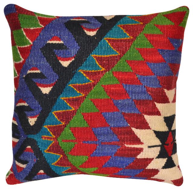 Bold Kilim Pillow Cover