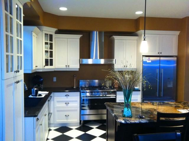Home design - eclectic home design idea in Toronto