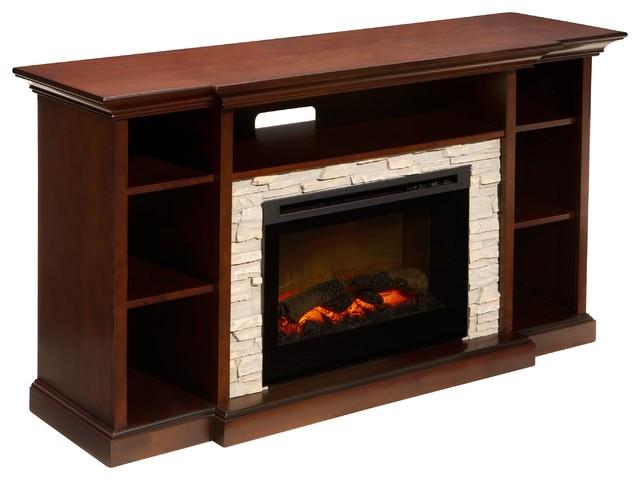 Merrick TV Console w/ Electric Fireplace
