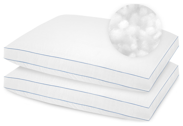 SensorPEDIC SofLOFT Extra Firm Density Pillow, Set of 2, Standard