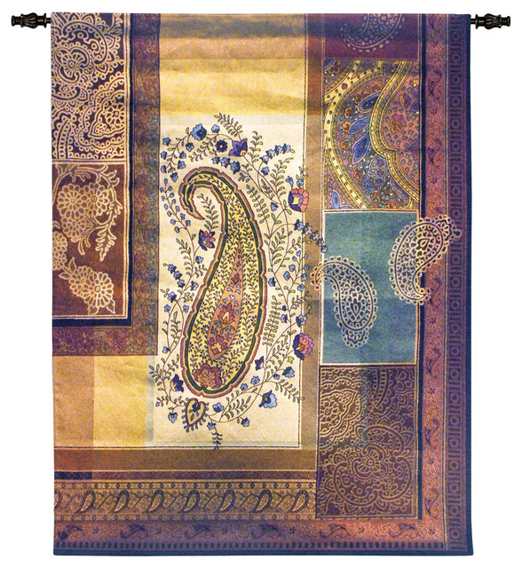 Fine Art Tapestries Bohemian Paisley Wall Tapestry