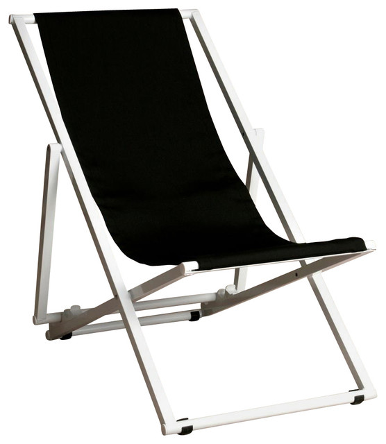 Amazing Adjustable Key West Lounge Chair In Jet Black Beatyapartments Chair Design Images Beatyapartmentscom