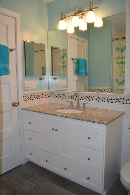 houzz kids bathroom bright beachy modern bathroom 13181