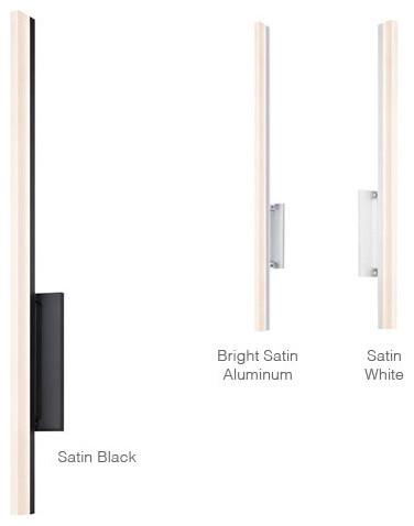 Led Bathroom Vanity Sconces stiletto 2340 - led sconce/bath bar | sonneman - contemporary