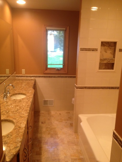 1960 39 S Rambler Bathroom Remodel Minneapolis By Attics
