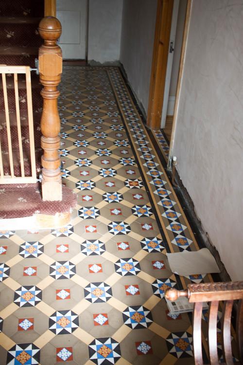 Paint Ideas For My Hallway Please Difficult Edwardian Tiles