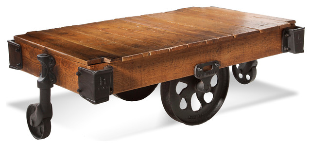 Factory Cart Table Industrial Coffee Tables
