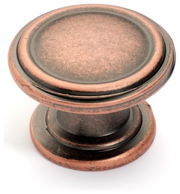 Super Saver K-8038-S Classic Cabinet Knob, Antique Copper