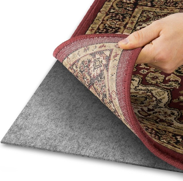 Home Queen Felt Rug Pads for Hardwood Floors All Floors, 3'x5'