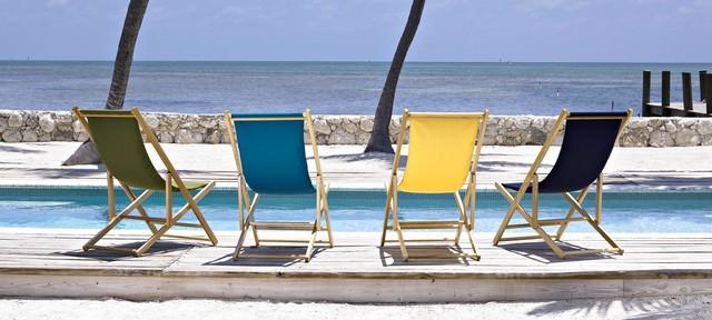 Telescope Casual Cabana Beach Folding Beach Chair