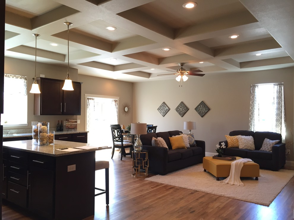 Contemporary, Ranch Style Home With Open Floor Plan