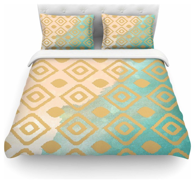 gold bedding set double duvet cover canada watercolor teal cotton twin contemporary super king size