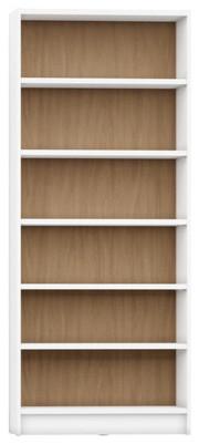 Manhattan Comfort Greenwich 6-Shelf Trente 1.0 Bookcase Matte And Maple Cream.