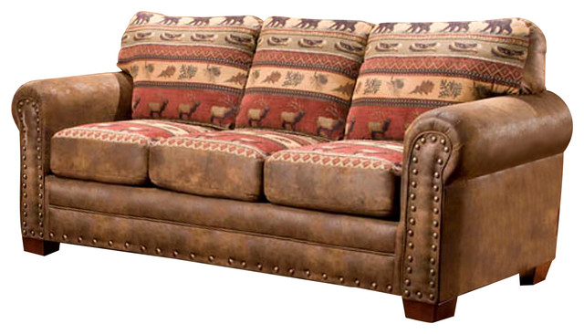 American Furniture Classics Sierra Lodge Sleeper Sofa Sleeper - Sleep sofas