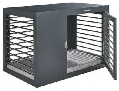 Moderno dog crate contemporary dog kennels and crates for Moderno furniture