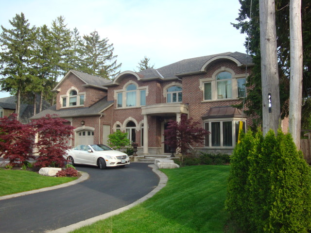 New Custom Homes Traditional Exterior Toronto By