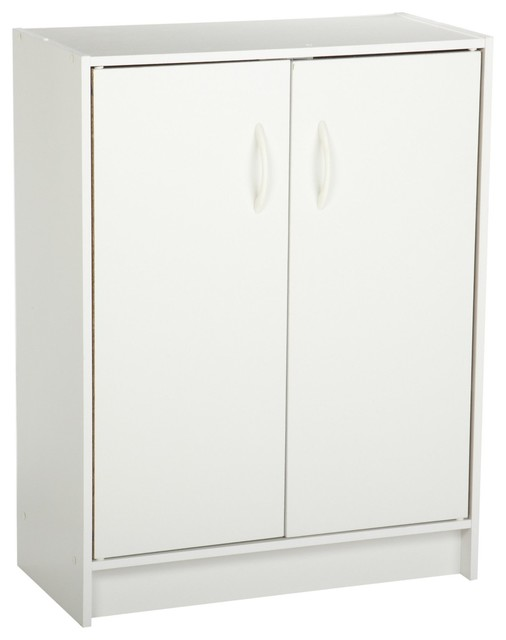 Closetmaid Pantry Storage Cabinet With Two Door Organizer White Modern Oak