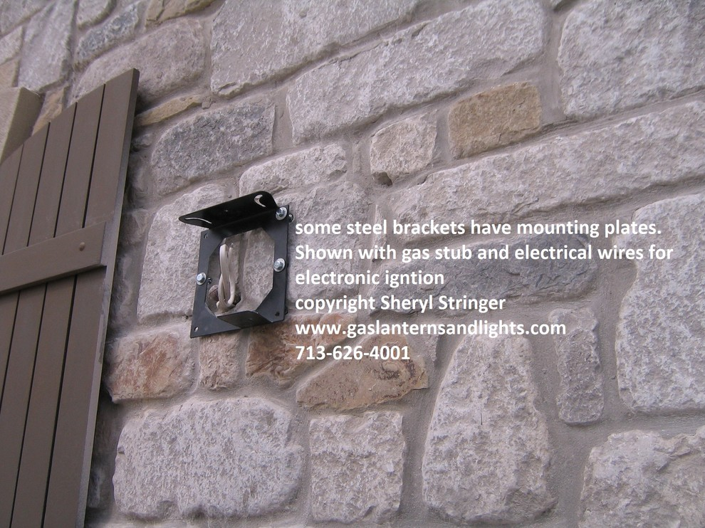 Gas Lantern Installation