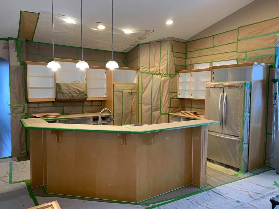 Maple Kitchen Upgrade Four Seasons