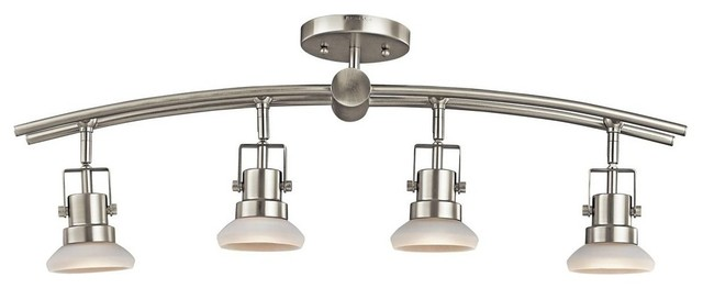 track lighting in bathroom shop houzz kichler kichler structures 4 light track 21003
