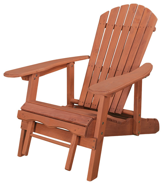 Awesome Reclining Adirondack Chair With Pull Out Ottoman Cjindustries Chair Design For Home Cjindustriesco