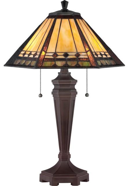 Arden 2-Light Floor Lamp, Bronze Patina.