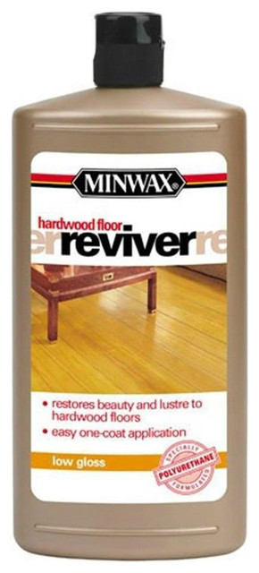 Minwax 609604444 Low Gloss Hardwood Floor Reviver 1 Qt