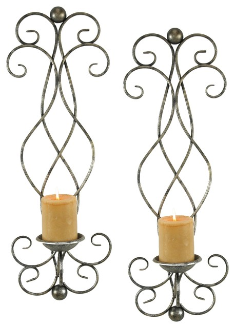 Aspire Home Accents Estelle Candle Wall Sconces Set Of
