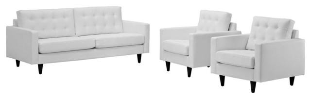 Modway Imports Empress Sofa And Arm Chairs Reviews Houzz
