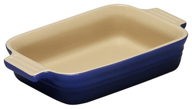 Le Creuset Heritage Stoneware 7-By-5-Inch Baking Dish.