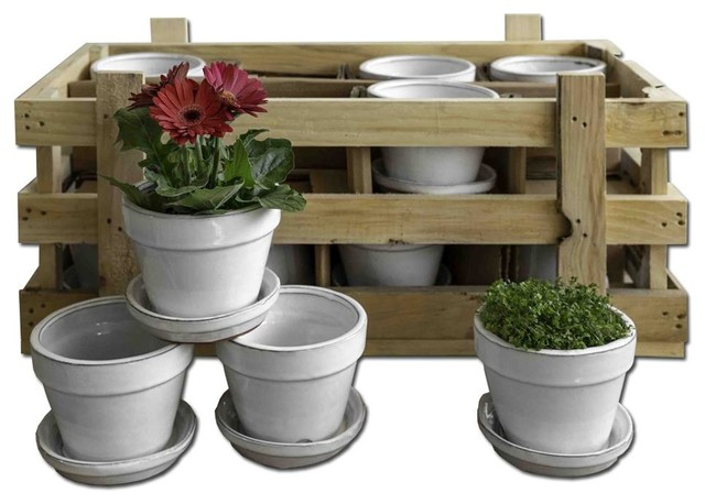 Garden Terrace Small Round Crate Set of 16