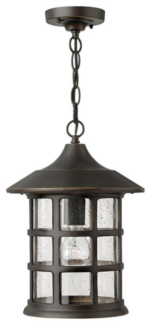 Hinkley Freeport Outdoor Large Hanging Lantern, Oil Rubbed Bronze