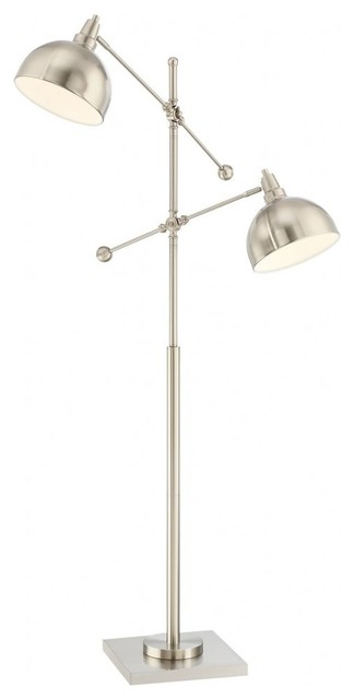 Cupola Two Light Floor Lamp Dark Bronze